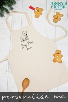 Personalised Polar Bear Apron by Jonny's Sister