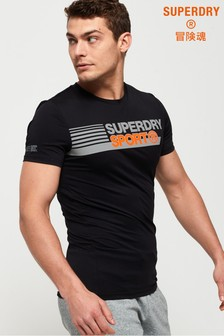 Superdry Active Tight Graphic T-Shirt
