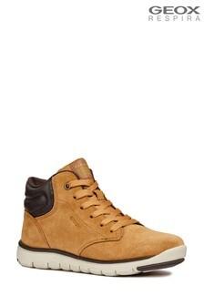 Brązowe buty chłopięce Geox Xunday