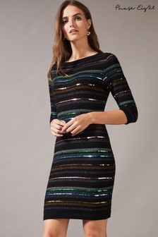 Phase Eight Multi Jesse Sequin Knit Dress