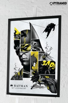 Pyramid Batman® 80th Anniversary Framed Poster