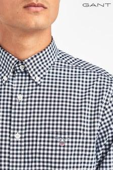 GANT Broadcloth Gingham Regular Shirt