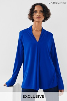 Next/Mix Jersey Drape Tunic