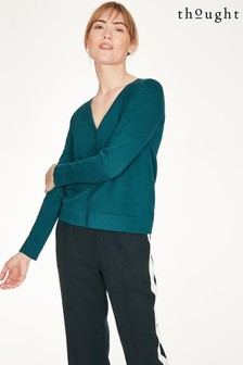 Thought Green Loren Cardigan