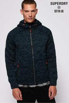 Superdry Storm Quilted Zip Hoody