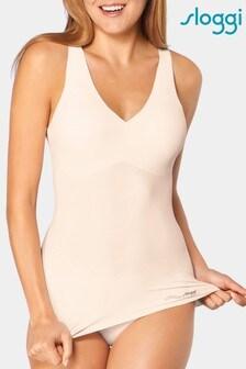 Sloggi™ White Zero Feel Natural Vest Top