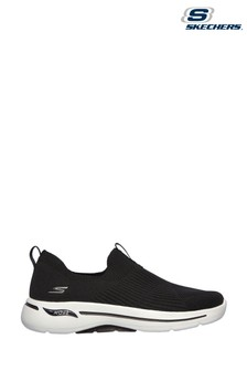 Skechers® Black Go Walk Arch Fit Iconic Trainers
