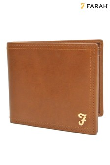 Farah Leather Bifold Wallet