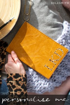 Personalised Leopard Print Notebook by Solesmith