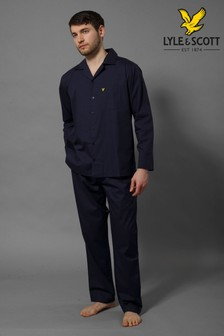 Lyle & Scott Navy Pyjama Set