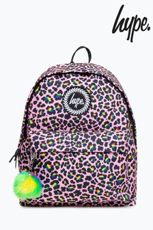 Hype. Rainbow Leopard Backpack