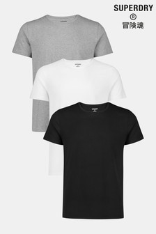 Superdry Organic Cotton Laundry 3 Pack T-Shirts