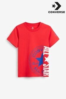 Converse Boys Chuck Patch All Star Split T-Shirt