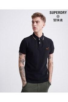 Superdry Black Pools Poloshirt