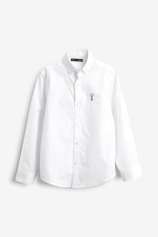 Long Sleeve Oxford Shirt (3-16yrs)