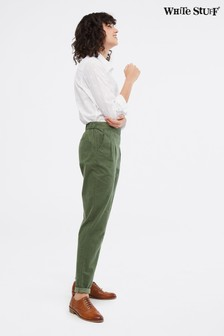 White Stuff Green Winter Maison Cord Trousers
