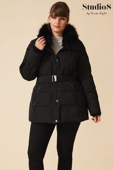 Studio 8 Black Deasia Short Padded Jacket