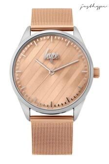 Hype. Gold Mesh Watch