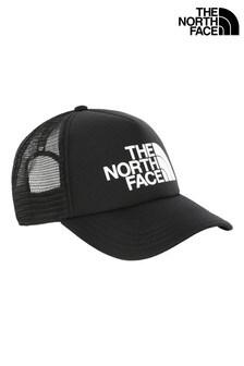 The North Face® Black Trucker Cap