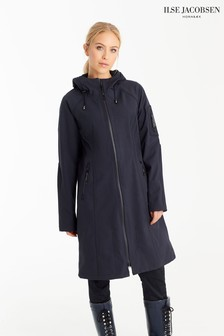 Ilse Jacobsen Hornbk Blue Long Raincoat