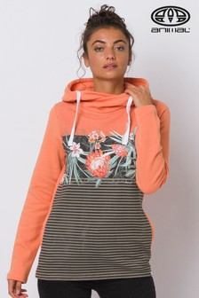 Animal Orange Mamara Hoody
