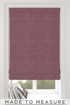 Jasper Plum Purple Made To Measure Roman Blind
