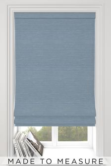 Jasper Powder Blue Made To Measure Roman Blind