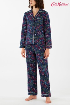 Cath Kidston® Blue Midnight Stars Cotton Pyjama Set