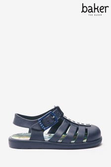Baker by Ted Baker Navy Jelly Sandals