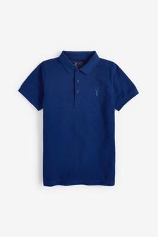 Textured Poloshirt (3-16yrs)