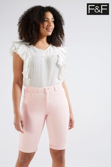 F&F Pink Authentic Knee Shorts