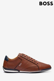 BOSS Brown Saturn_Lowp_tbpf1 Trainers