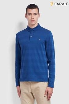 Farah Blue Stapleton Poloshirt