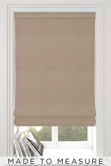Jasper Praline Natural Made To Measure Roman Blind