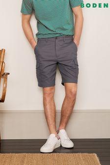 Boden Grey Cargo Shorts