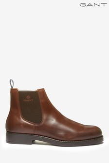 GANT Brown Oscar Chelsea Shoes