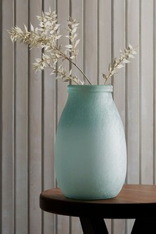 Frosted Recycled Vase