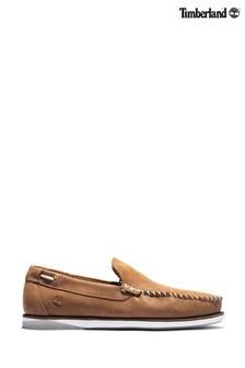 Timberland® Brown Atlantis Break Boat Shoes