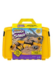 Kinetic Sand Construction Sandbox