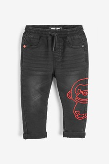 Monkey Character Jogger Jeans (3mths-7yrs)