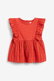 Broderie Blouse (3mths-7yrs)