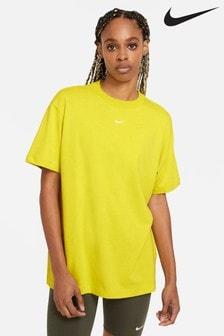 Nike Yellow Essential Boyfriend T-Shirt