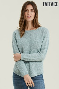 FatFace Green Harpenden Jumper