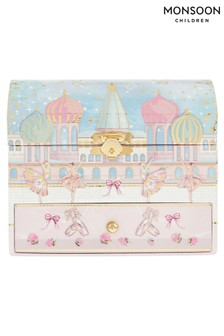 Monsoon Pearly Dream Ballerina Jewellery Box
