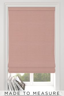 Jasper Rose Pink Made To Measure Roman Blind
