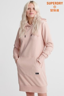 Superdry Pink Sweat Dress