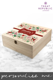Personalised Festive Christmas Eve Box by Treat Republic