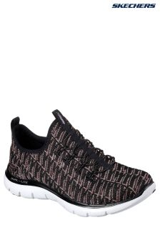 Skechers® Black Flex Appeal 2.0 Insights