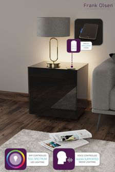 Frank Olsen Smart LED Black Lamp Table