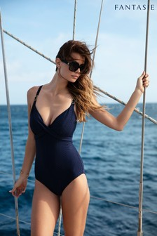 Fantasie Long Island Deep Plunge Wrap Light Control Swimsuit